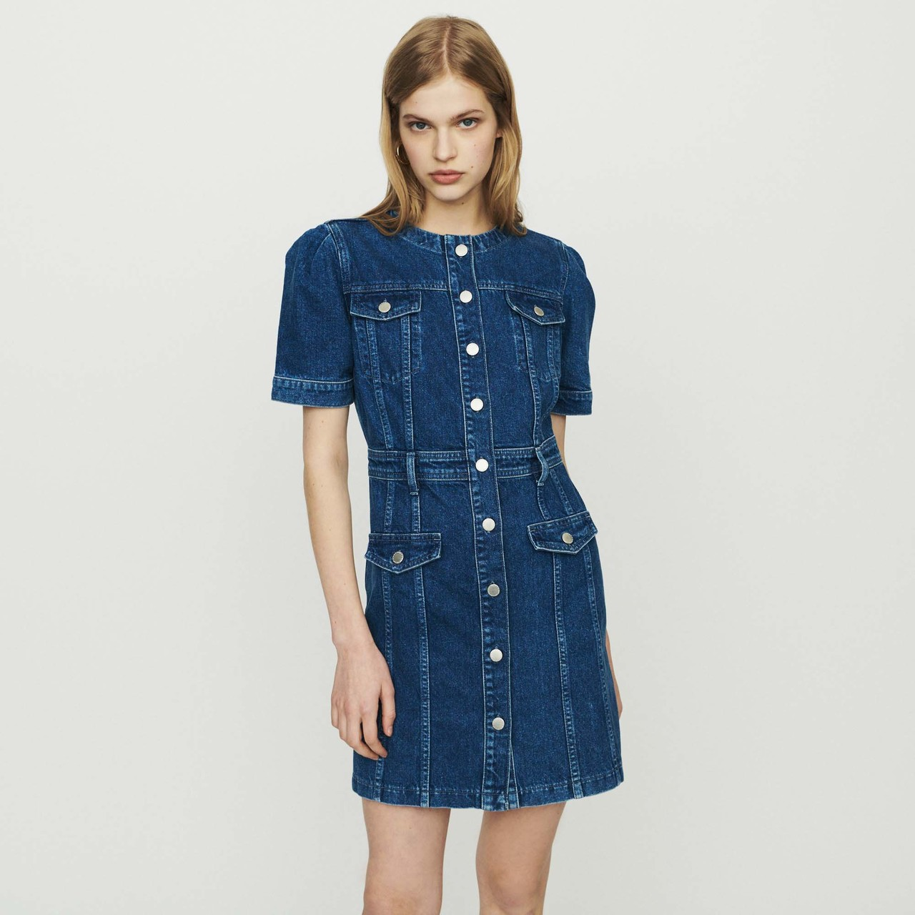 Denim Dress - Denim