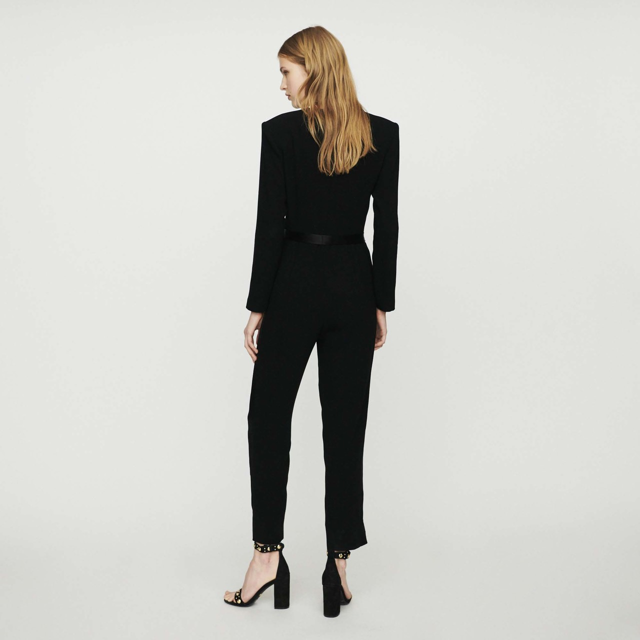 Crepe Jumpsuit - Black