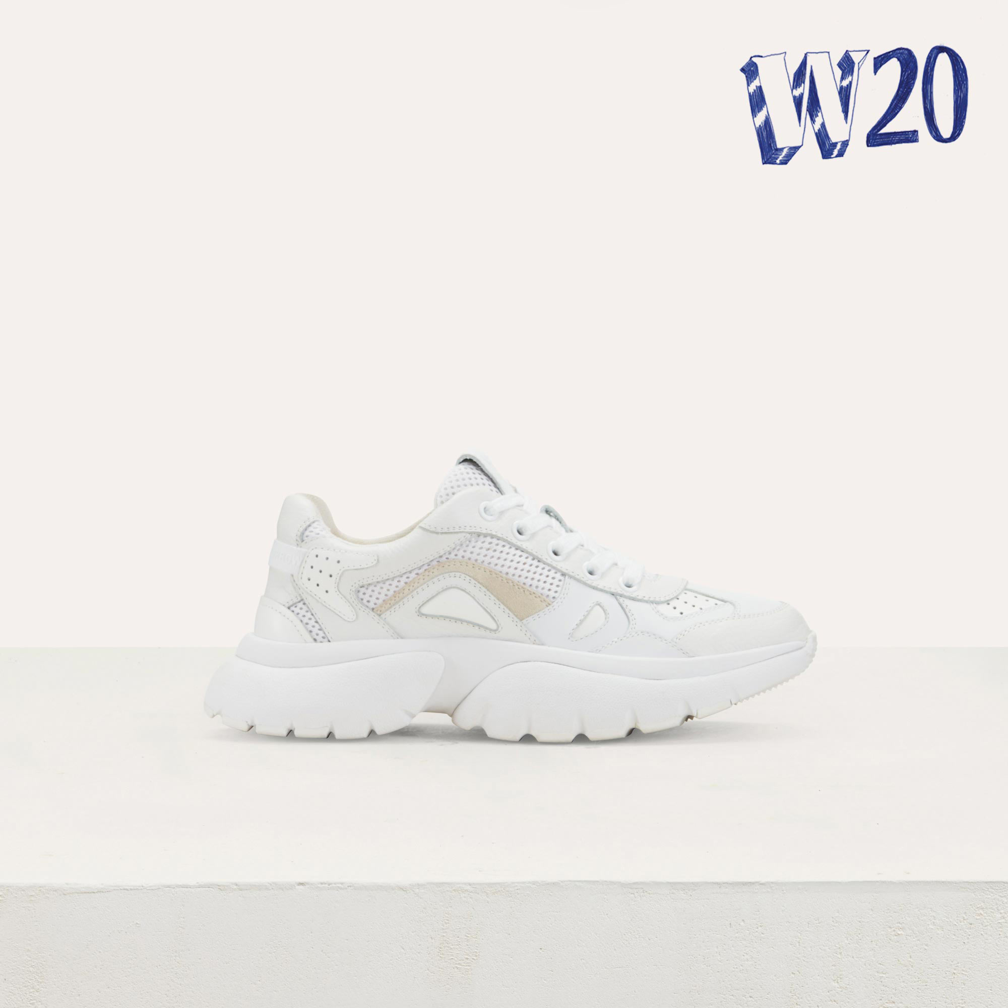 Maje Faster Sneakers