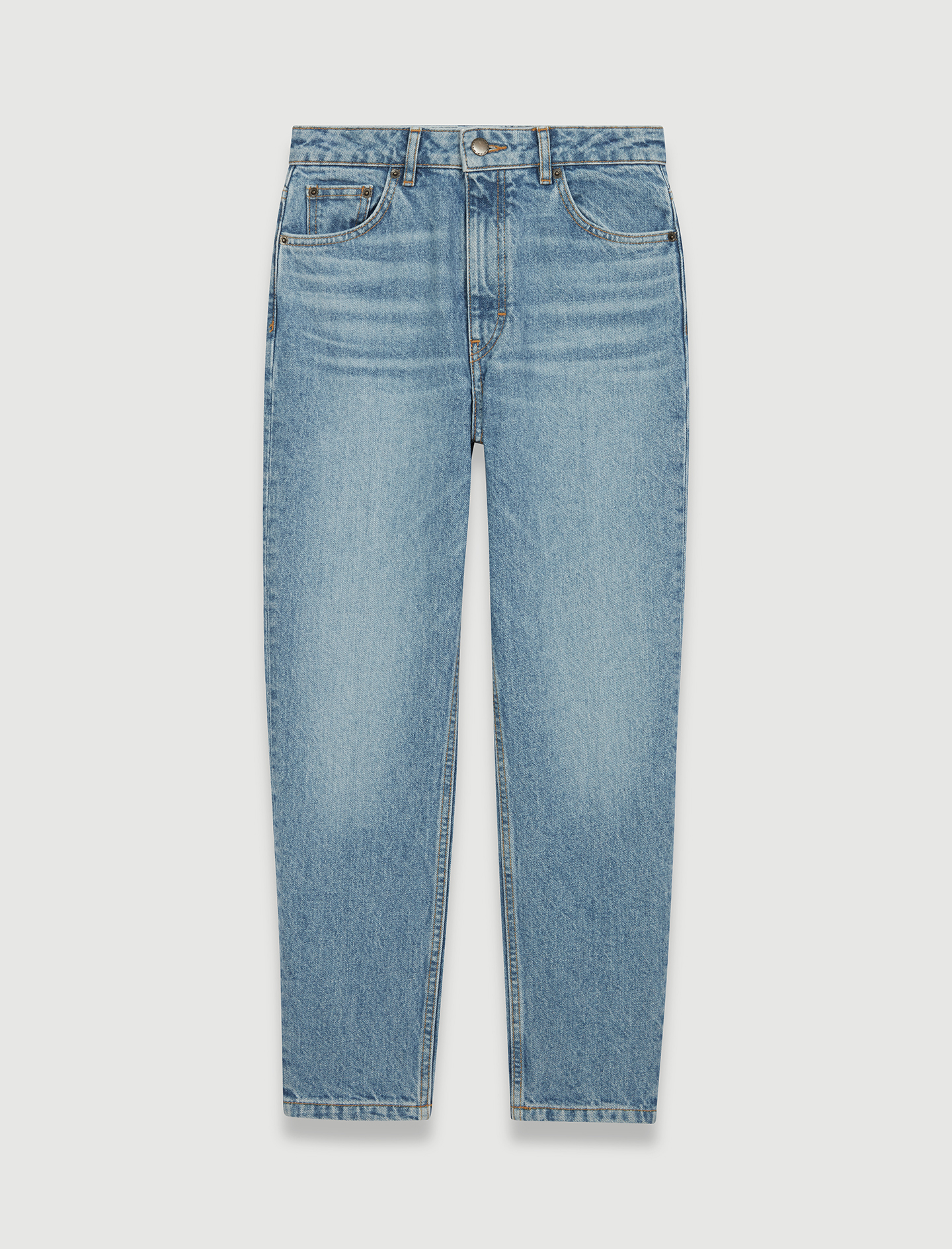 High Waisted Jeans - Blue