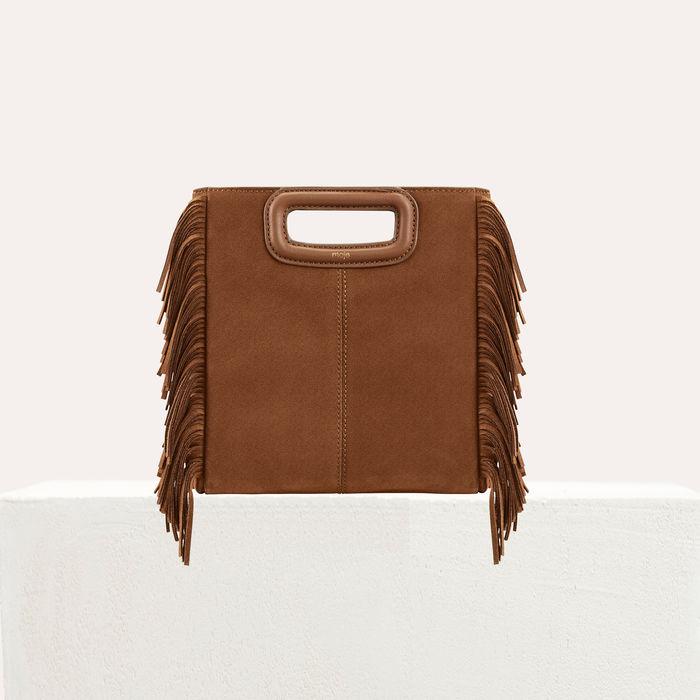 Maje Msuede Handbag
