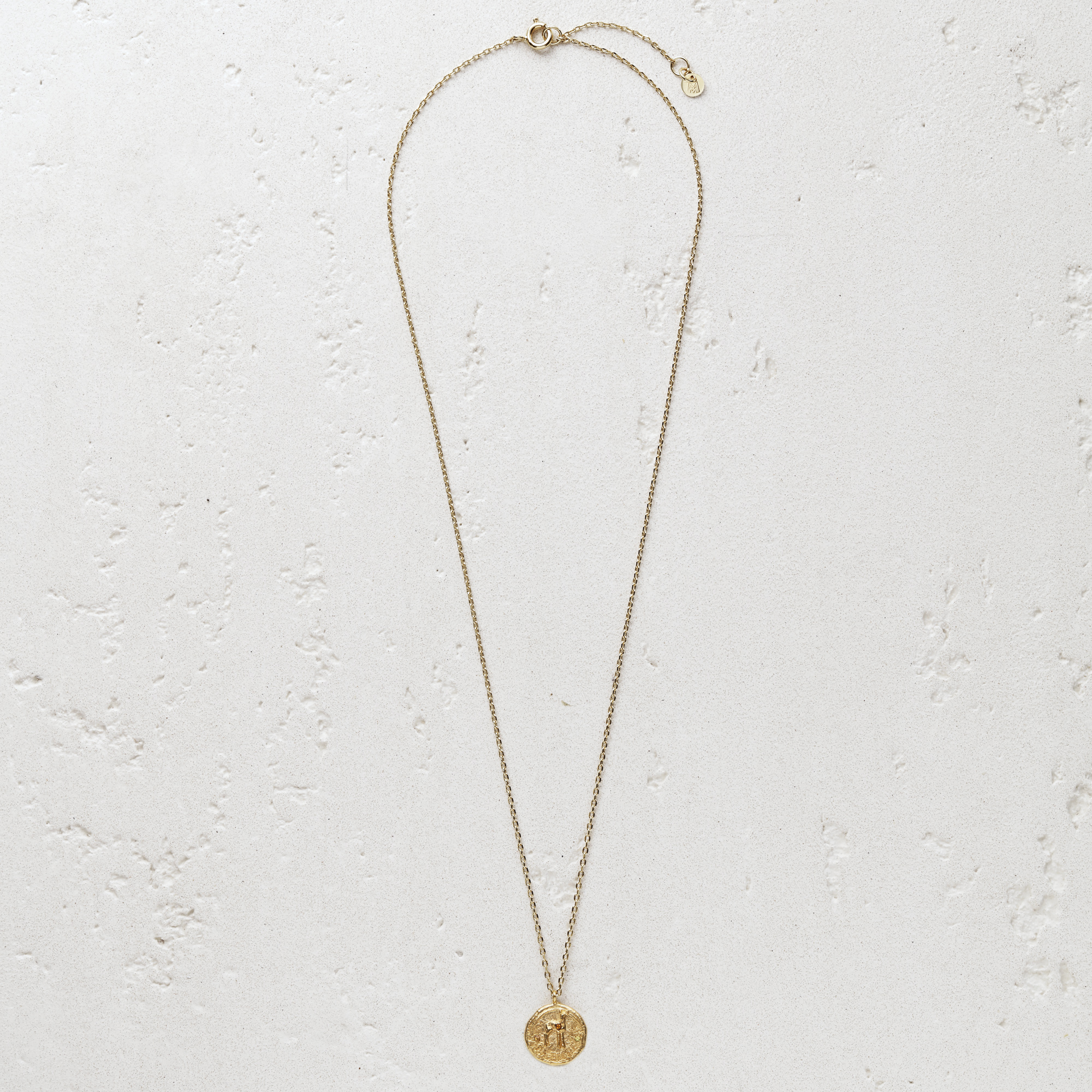 """""""Ma biche"""" gold plated necklace - Gold"""