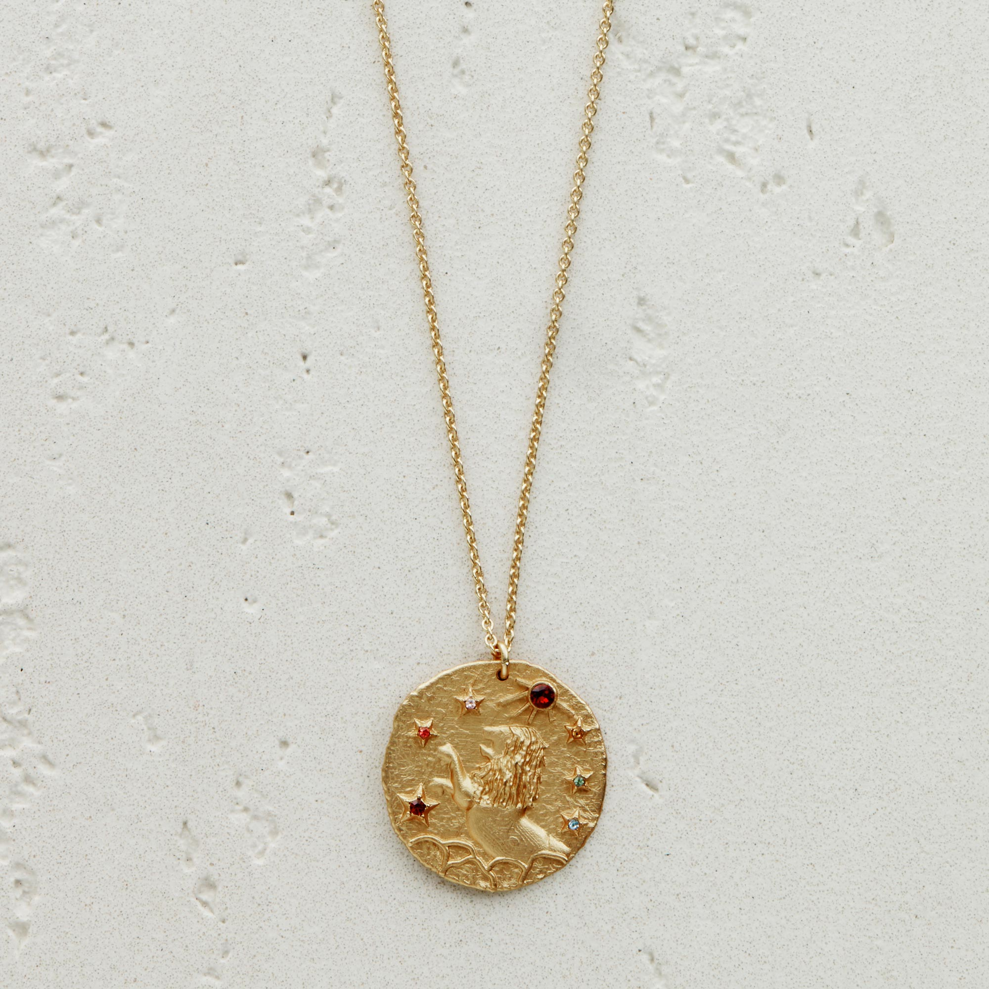 Leo Astro necklace - Gold