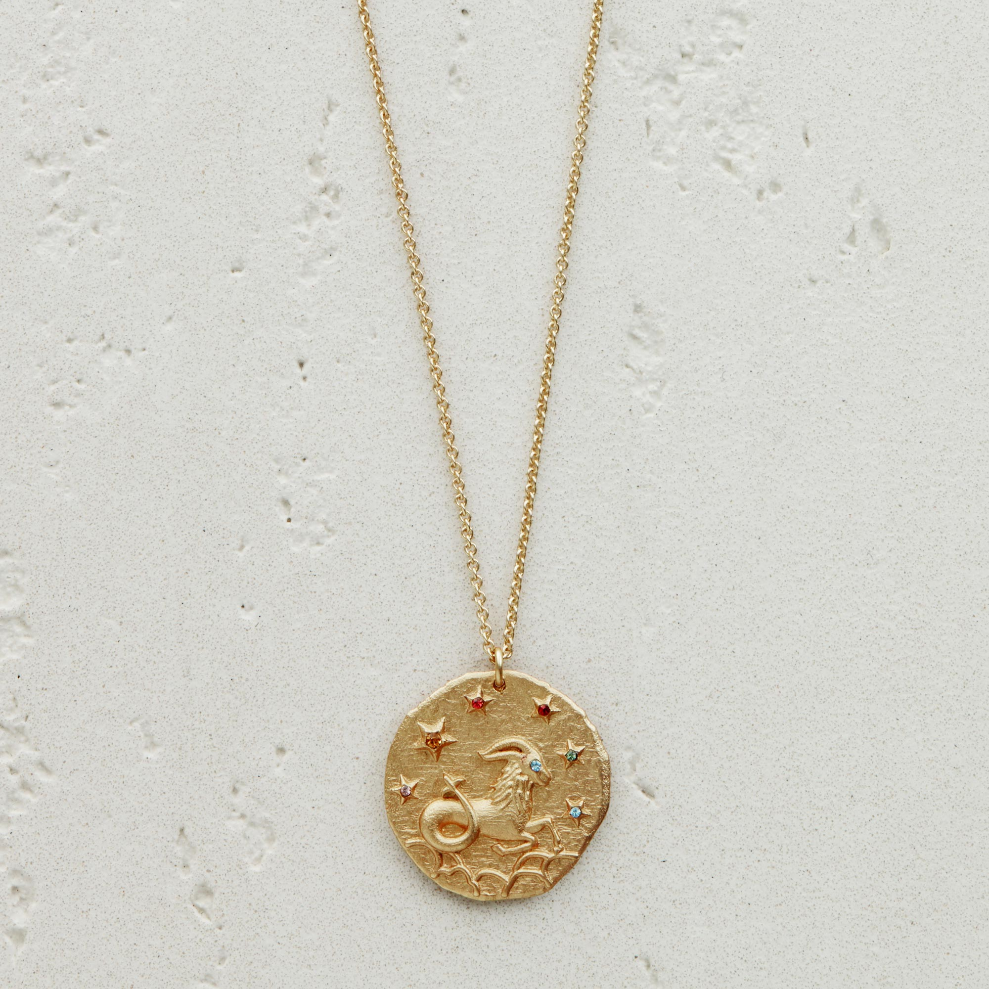 Capricorn Astro necklace - Gold