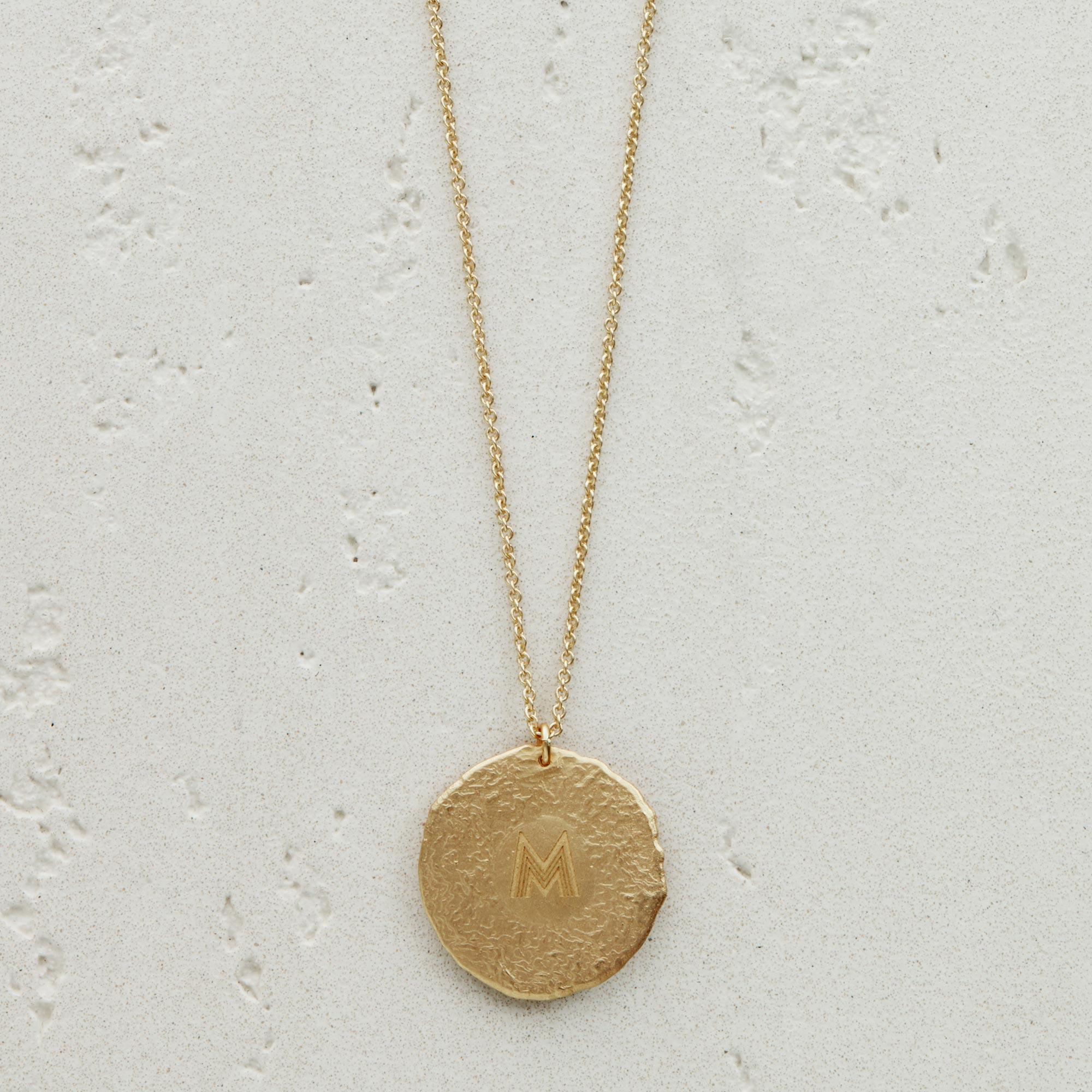Aquarius Astro necklace - Gold