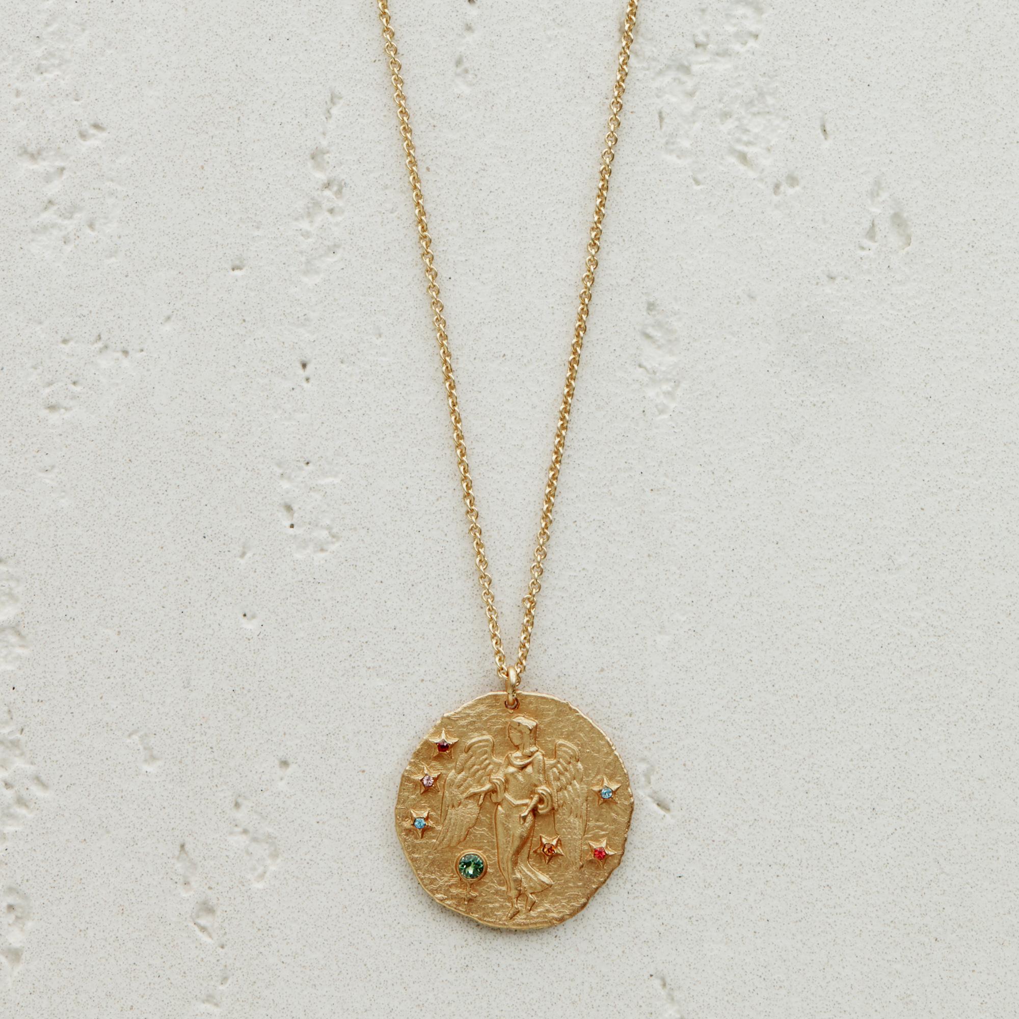 Virgo Astro necklace - Gold
