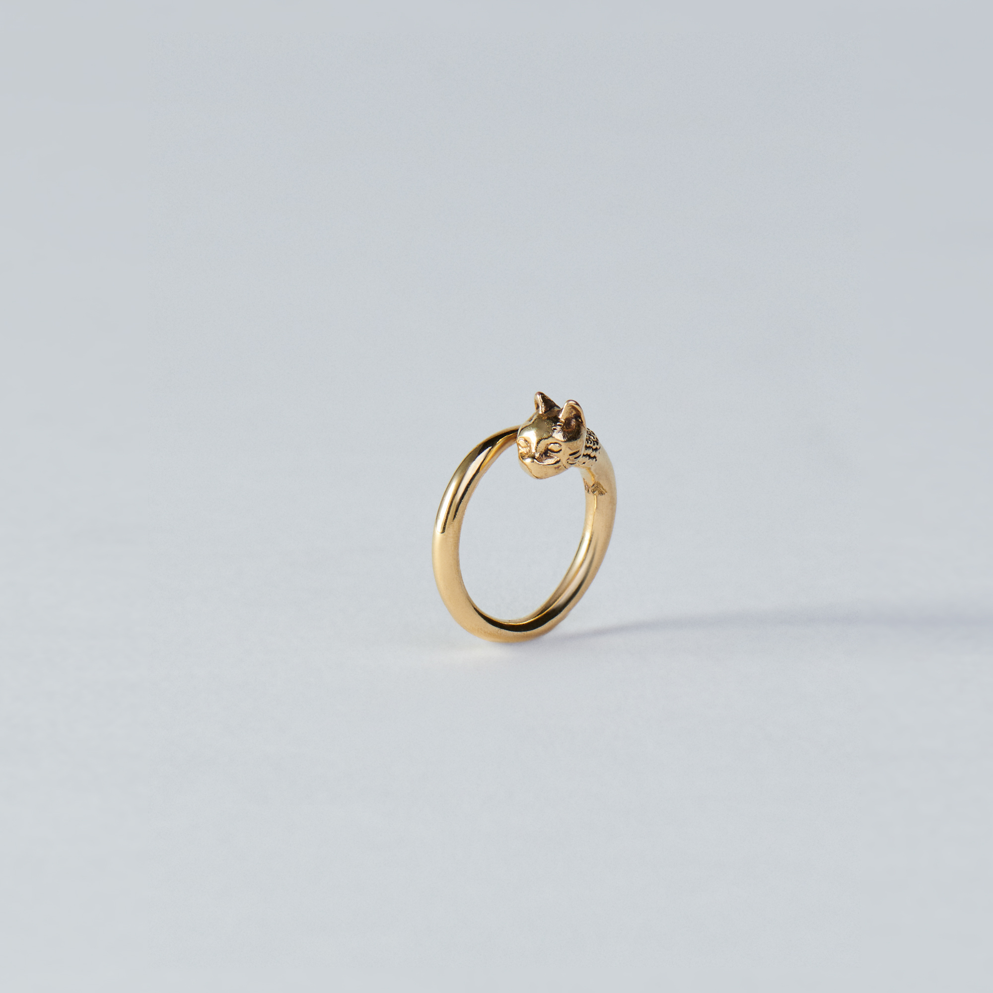 Cat ring - Gold