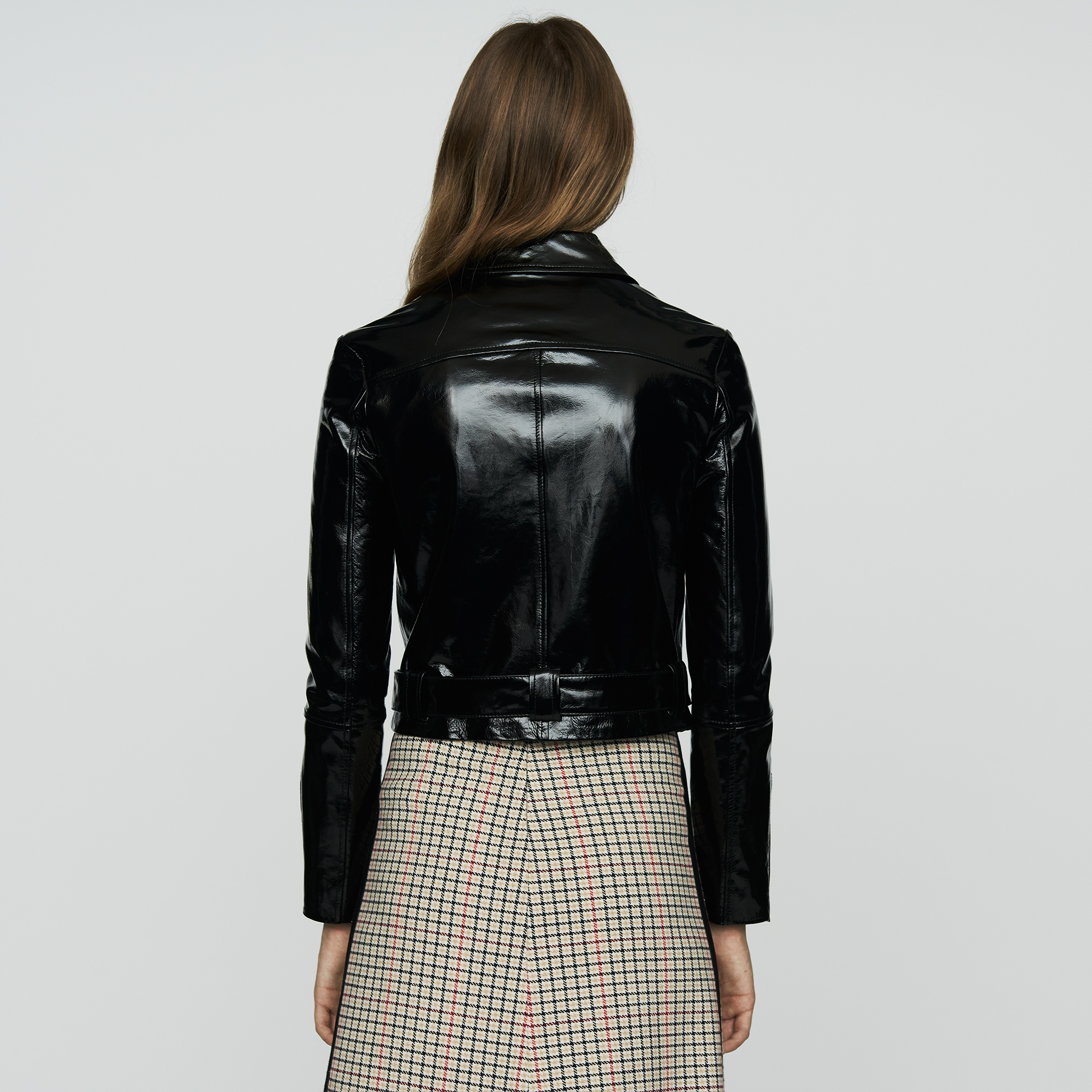 Bliza Leather Jacket - Black