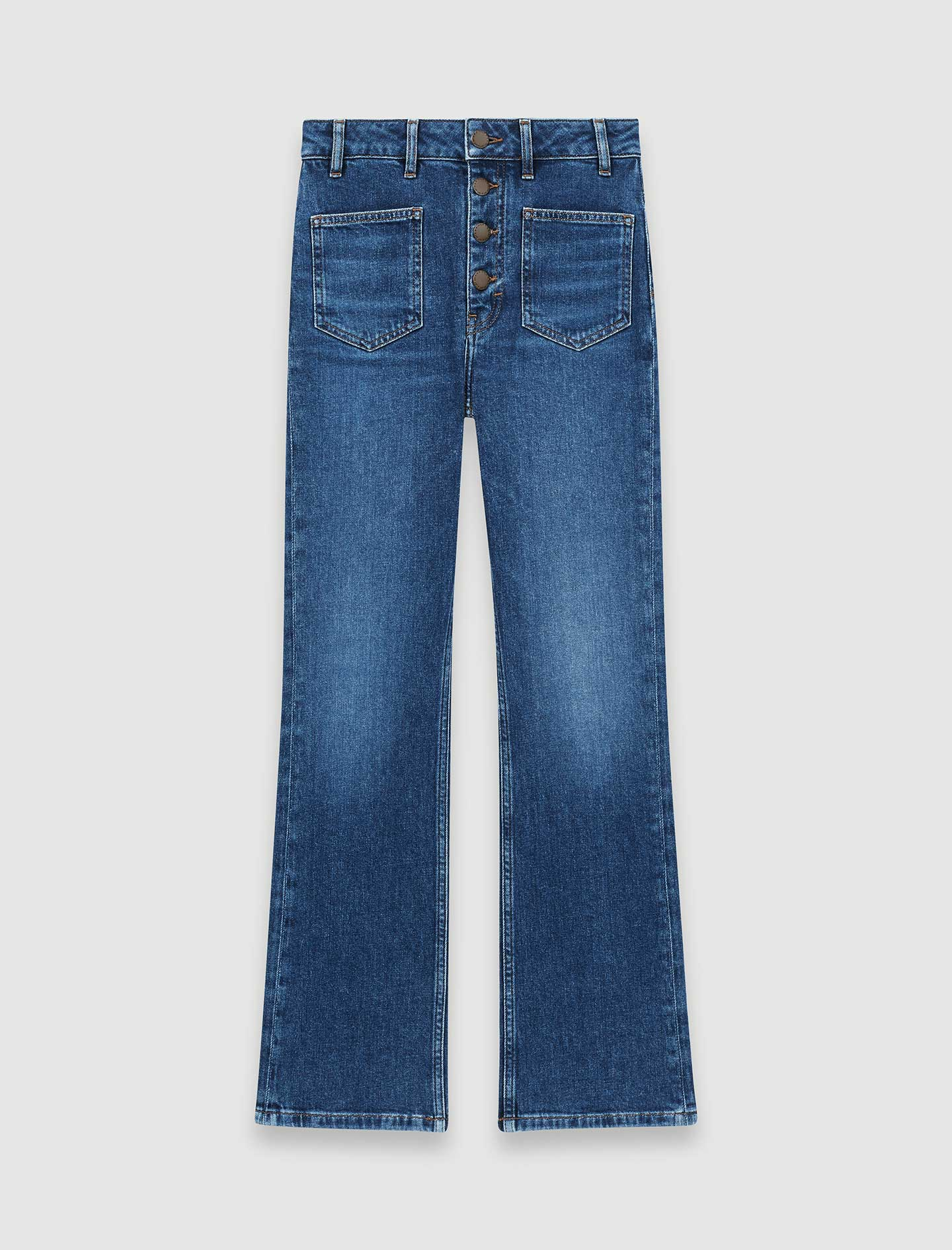 Jeans with pockets - Blue