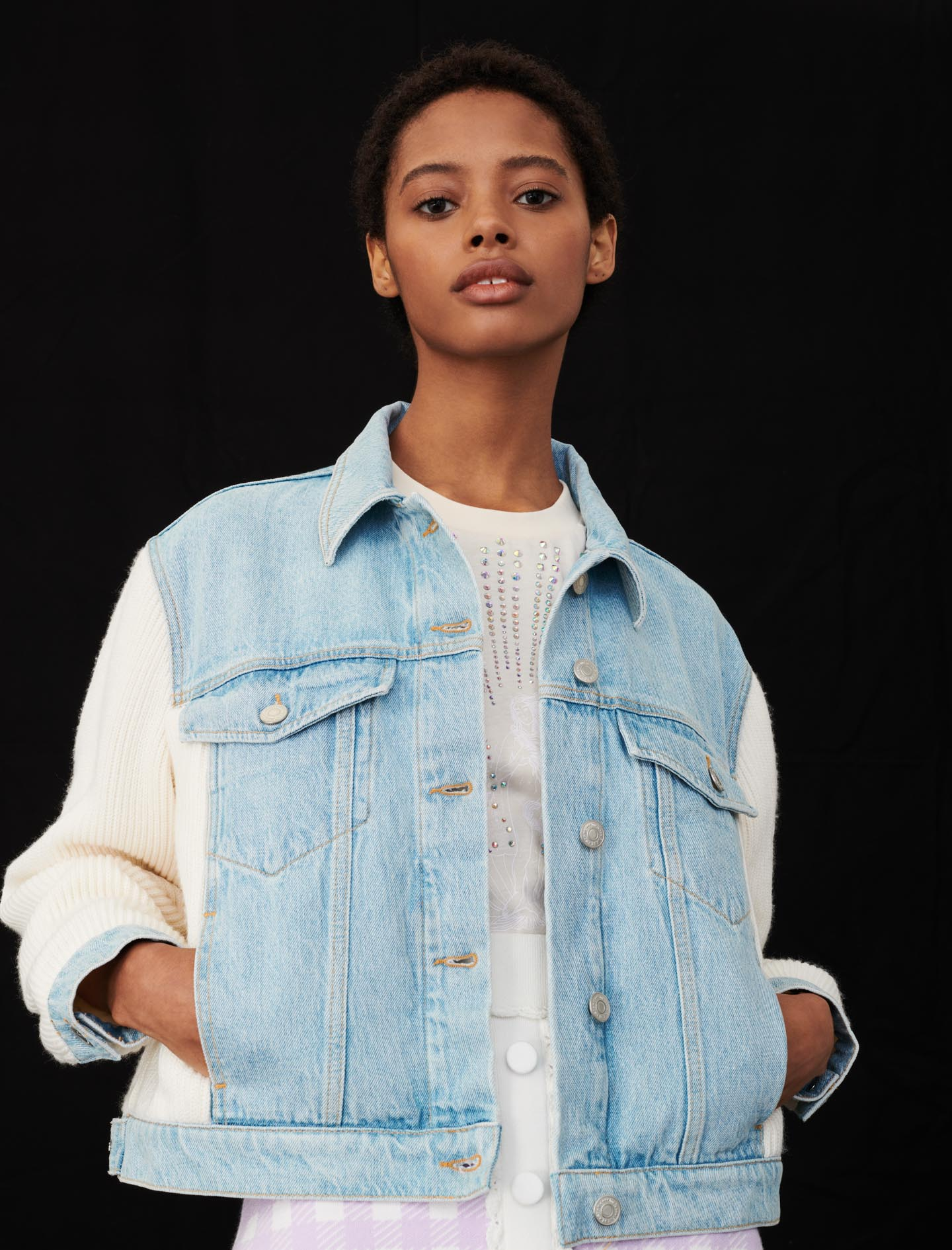 Maje Denim jacket