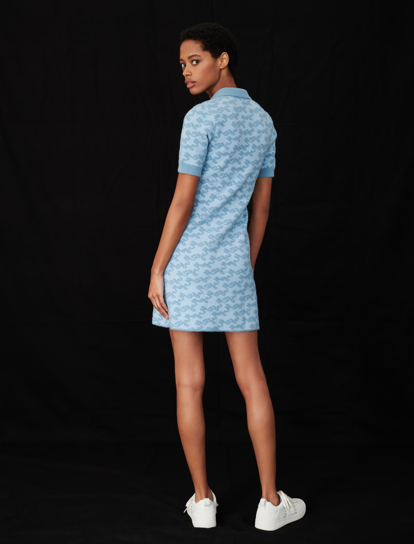 Maje jacquard dress