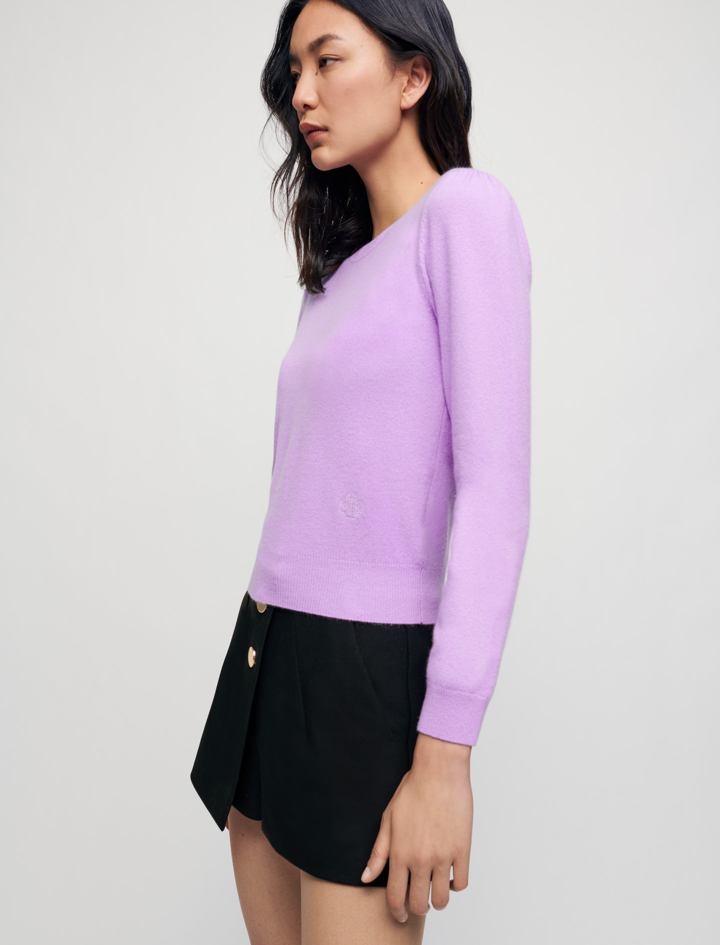 100% Cashmere sweater - Lilac