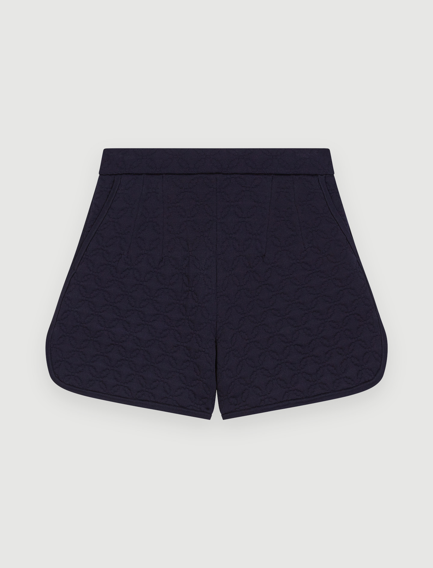 Quilted shorts - Marine