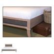 Fashion Bed Group Delano Platform Bed footboard