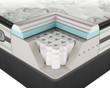 Simmons Beautyrest Platinum Gabriella Luxury Firm Pillow Top Mattress Cut Away