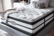Simmons Beautyrest Platinum Gabriella Luxury Firm Pillow Top Mattress Corner