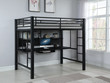 Coaster Safeguard Full Loft Bunk Bed with Workstation; Lifestyle 2