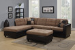 Coaster Mallory Reversible Sectional with Contemporary Style