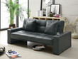 Coaster Yorkshire Sofa Bed in Black; Lifestyle