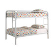 Coaster Fordham Twin Over Twin Bunk Bed in White