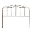 Fashion Bed Group Kalina Headboard in Brushed Bronze