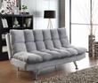 Coaster Eden Sofa Bed in Grey; Lifestyle 1