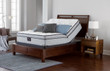 Serta Perfect Sleeper Lockland Super Pillow Top Mattress on adjustable