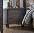 Homelegance Lindley Collection Nightstand in Dusty Gray