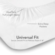 Malouf Woven Brushed Microfiber Bed Sheets 7