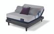 Serta iComfort Blue 500 Plush Mattress with Motion Perfect III Adjustable Bed Set