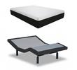 "House of Nature Sleep Solutions 10"" Gel Memory Foam Mattress with 5i Adjustable Base Set"