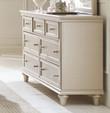 Homelegance Celandine Collection Dresser in Silver