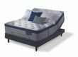 Serta iComfort Blue Fusion 5000 Cushion Firm Pillow Top Mattress with Adjustable