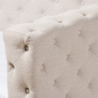 Baxton Studio Janie Classic And Contemporary Light Beige Fabric Upholstered Daybed With Trundle
