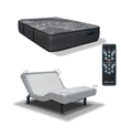 IDealBed Luxe Series IQ5 Hybrid Luxury Firm Mattress with Reverie 5D Adjustable Bed Foundation  1