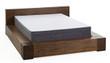 "Sleep Technologies 10"" Rose Plush Memory Foam Mattress 2"