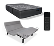 iDealBed Luxe Series Hybrid iQ5 Luxury Firm Mattress with Reverie 7HT Adjustable Bed Base