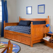 Fashion Bed Group Casey Daybed with Trundle in Honey Maple 10