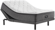Simmons Beautyrest Silver BRS900 Plush Pillow Top Mattress; with Adjustable