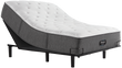 Simmons Beautyrest Silver BRS900-C Plush Pillowtop Mattress; with Adjustable