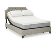 Sleep Technologies Reactive Hybrid Memory Foam Mattress; with Adjustable and Bed
