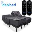 iDealBed iQ5 Luxury Hybrid Mattress with 3i Adjustable Bed Set; Split King Set