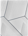 Serta iComfort Hybrid CF3000 Medium Mattress; Aerial View