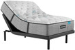 Simmons Beautyrest Harmony Lux HL-1000 Carbon Medium Mattress with Adjustable Base