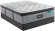 Simmons Beautyrest Harmony Lux HL-1000 Carbon Medium Pillow Top Mattress; Box Spring