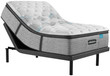 Simmons Beautyrest Harmony Lux HL-1000 Carbon Plush Pillow Top Mattress; with Adjustable