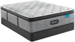 Simmons Beautyrest Harmony Lux HL-1000 Carbon Plush Pillow Top Mattress; Box Spring