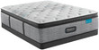 Simmons Beautyrest Harmony Lux HL-1000 Carbon Plush Pillow Top Mattress; Low Profile Box Spring