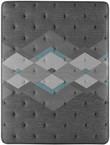 Simmons Beautyrest Harmony Lux HL-2000 Diamond Medium Mattress; Aerial Quilt View