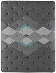 Simmons Beautyrest Harmony Lux HL-2000 Diamond Ultra Plush Pillow Top Mattress; Aerial Quilt View